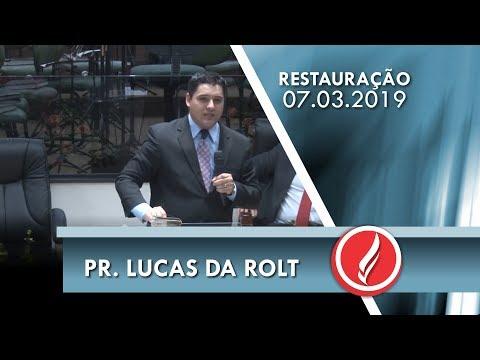 Pr. Lucas da Rolt | Você é altar de Deus | 2 Cr 7.14 | 07 03 2019