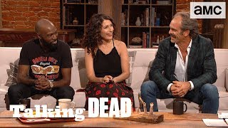'Do the Saviors Have Worse Aim Than Storm Troopers?' Fan Questions Ep. 805 | Talking Dead - AMC