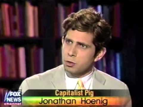 Jonathan Hoenig with Neil Cavuto on Bush tax cuts, June 2001