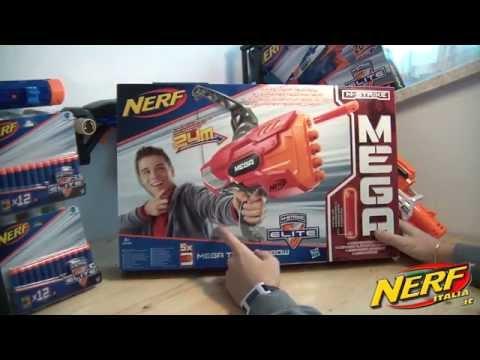 Recensione Nerf MEGA Thunderbow www.nerfitalia.it