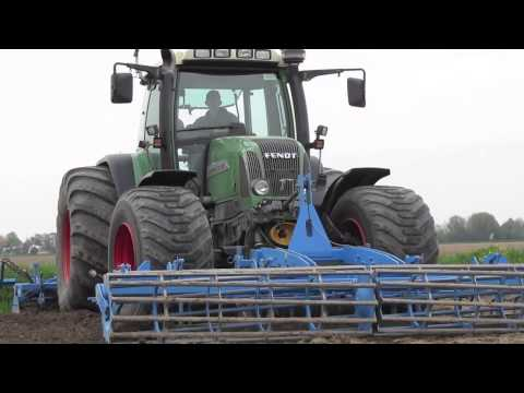 Preparing land with Fendt Favorit 711 Vario and Lemken- Vrolijk Landbouw