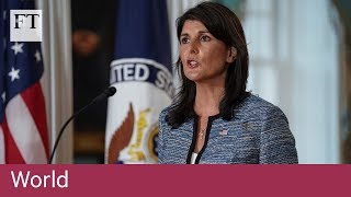 US withdraws from UN Human Rights Council - FINANCIALTIMESVIDEOS
