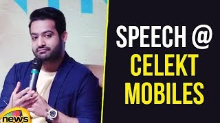 JR NTR Speech at Celekt Mobiles Inauguration Program, Speaks About Uniqueness | Mango News - MANGONEWS