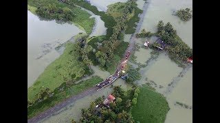 Kerala floods: Aerial view of the situations, report from inside IAF aircraft - TIMESOFINDIACHANNEL
