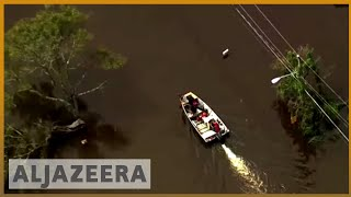 🇺🇸 Florence: North Carolina's rivers still rising after record rain | Al Jazeera English - ALJAZEERAENGLISH