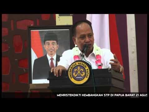 Menristekdikti Kembangkan STP di Papua Barat