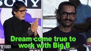 Aamir Khan: Dream come true to work with Big B - IANSLIVE