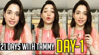 21 Days With Tamanna Bhatia | Day 1/21 | Social Distancing and Self Quarantine | #21DaysWithTammy - TFPC