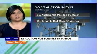 Market Pulse: 3G Auction Unlikely In FY15 - BLOOMBERGUTV