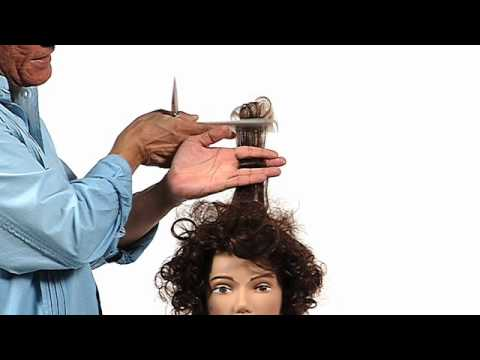 Cutting Techniques for Curly Hair with Sam Villa: Curly Hair Spacing