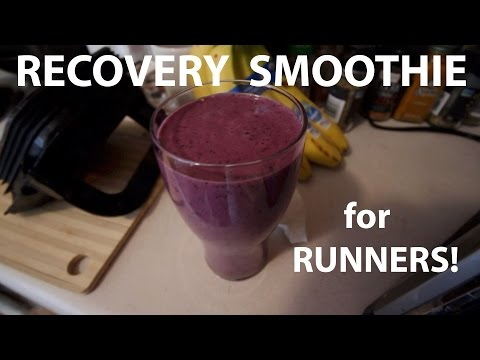 RECOVERY SMOOTHIE FOR RUNNERS! | Sage Running Nutrition Tips