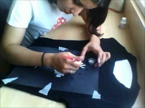 Tutorial camiseta - DIY