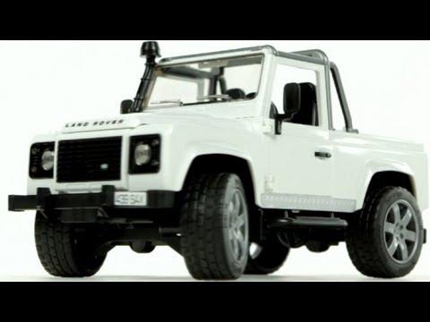 Land Rover Defender Pick Up  Muffin Songs' Oyuncakları Tanıyalım