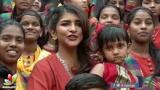 Lakshmi Manchu Celebrates Sankranthi With Govt School students - IGTELUGU