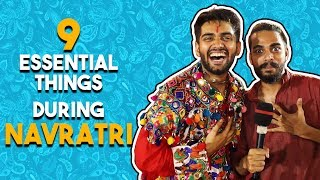 Navratri is incomplete without...? | Falguni Pathak Event | Navratri 2018 - ZOOMDEKHO