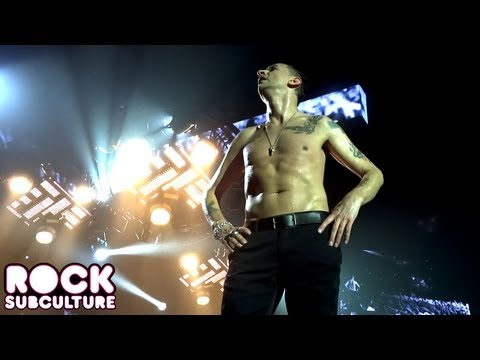Depeche Mode 'Never Let Me Down Again' at the O2 London England on 05/28/2013