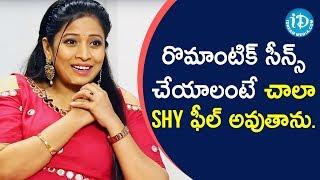 I Feel Shy To Act In Romantic Scenes - Kathalo Rajakumari Sushma Kiron | Soap Stars With Anitha - IDREAMMOVIES