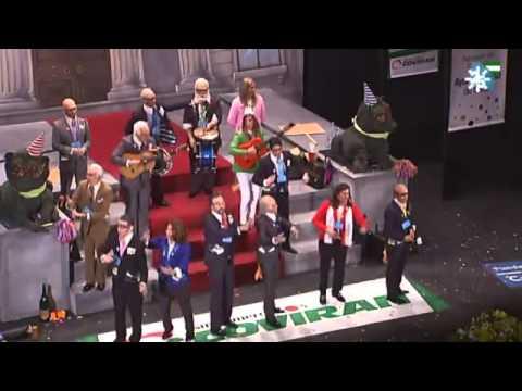 Sesión de Final, la agrupación Esto si que es una chirigota actúa hoy en la modalidad de Chirigotas.