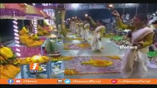 Nirmal District Basara Godavari Nadi Deeksha Jyothi Started On November 2nd  | iNews - INEWS