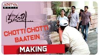 Chotti Chotti Baatein Song Making || Maharshi || MaheshBabu, PoojaHegde ||  Vamshi Paidipally || DSP - ADITYAMUSIC