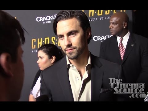 chosen season 2 red carpet milo ventimiglia chad michael murray