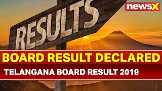 Telangana Board TS inter result 2019: Intermediate 1st, 2nd year results declared - NEWSXLIVE