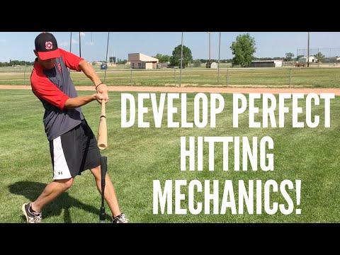 2 Simple Drills to Develop Perfect Baseball Hitting Mechanics!
