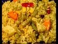 Making of Vegetable Khichdi