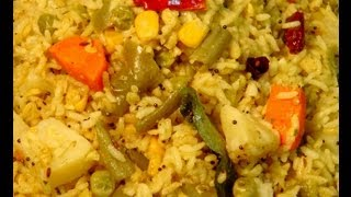 Vegetable Khichdi ..