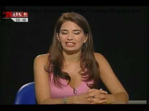 Bárbara Guimarães e os seus lábios sensuais