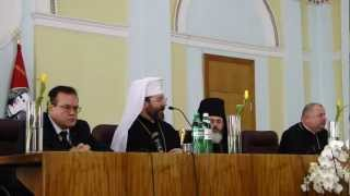 Зустріч Глави УГКЦ із студентами в Луцьку (1 і 2)