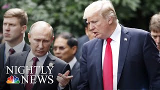 President Donald Trump Blasts Russia Investigation In UK Remarks | NBC Nightly News - NBCNEWS
