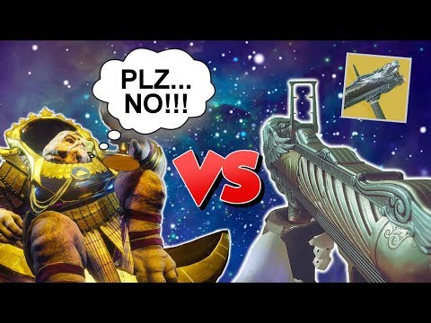 The WORST Gun in Destiny VS Calus...