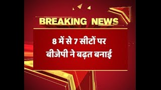Gujarat Civic Election Result 2018: In neck to neck fight, BJP surges ahead - ABPNEWSTV