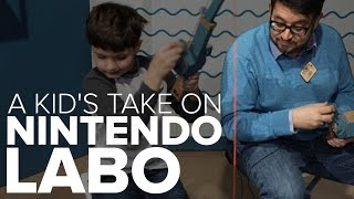 Nintendo Labo: My 9-year-old's verdict - CNETTV