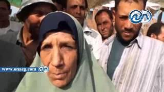 بالصور والفيديو ..استمرار إضراب 25 فلاح عن الطعام مفترشيتن أرضية استقبال مستشفى الحامول بكفر الشيخ