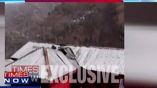 Damage Caused By Pakistan's Ceasefire Violation - TIMESNOWONLINE