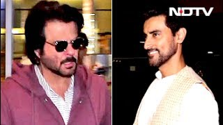 Anil Kapoor, Kunal Kapoor & Other Stars Return Home After Attending IIFA Awards - NDTV