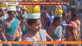 Mahakutami Candidate Devaiah Speed Up Election Campaign In Wardhannapet | iNews - INEWS