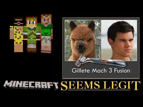 MINECRAFT Adventure Map # 4 - Seems Legit «» Let's Play Minecraft | HD