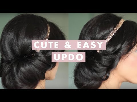 Cute & Easy Up-Do
