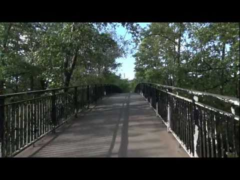 Sony HX9V - 1080 50p - Stabilisation Test Walking over a bridge