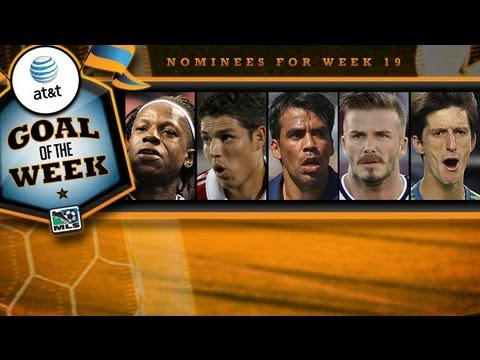 AT&T Goal of the Week Nominees: Week 19