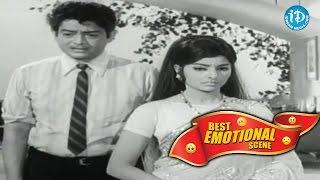 Telugu Movies || Best Emotional Scene || Sharada, Raja || Pagabattina Paduchu - IDREAMMOVIES