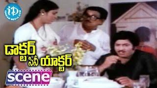 Doctor Cine Actor Movie Scenes - Krishna Accept To Act With Ranjana || Jayasudha - IDREAMMOVIES