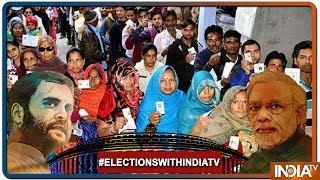 Lok Sabha Elections 2019: तेज़ गर्मी में भी Uttar Pradesh में ज़बरदस्त Voting - INDIATV