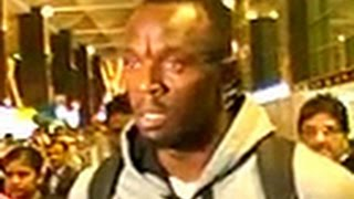 Usain Bolt arrives in India - TIMESNOWONLINE