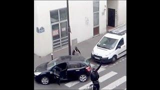"""رويترز تبث فيديو جديد عن أحداث """"شارلي إيبدو"""""""