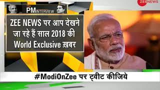 Watch: PM Narendra Modi's exclusive interview with Zee News Editor Sudhir Chaudhary - ZEENEWS