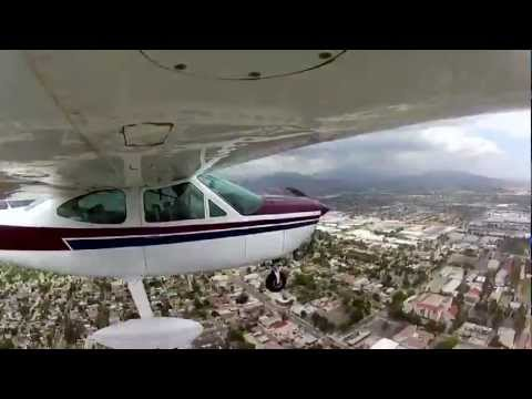 GoPro flight in a Cessna Cardinal